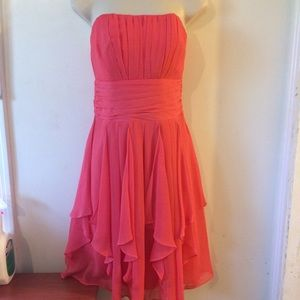 David's Bridal short dress